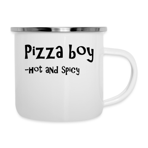 Pizza boy - Emaljekopp