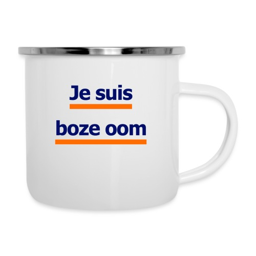 boze oom - Emaille mok