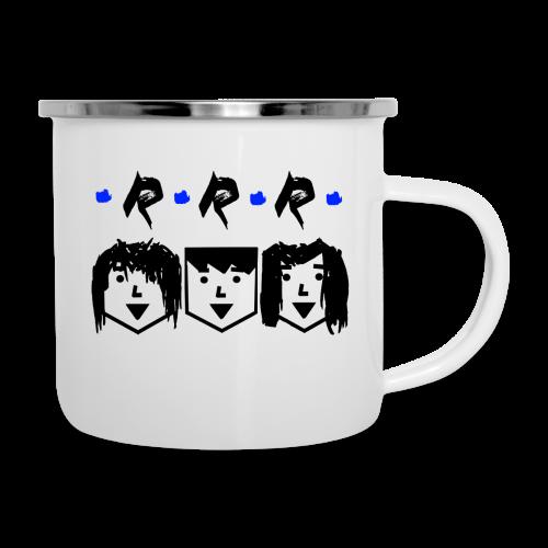 RRR - Heads - Emaille-Tasse