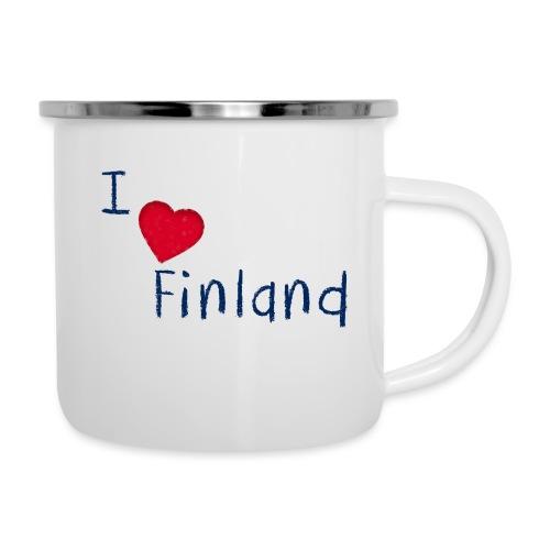 I Love Finland - Emalimuki