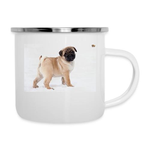 walker family pug merch - Camper Mug