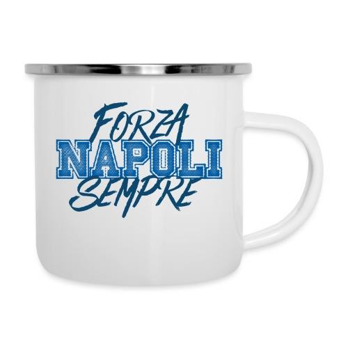 Forza Napoli Sempre - Tazza smaltata