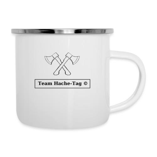 Logo Team Hache-Tag - Tasse émaillée