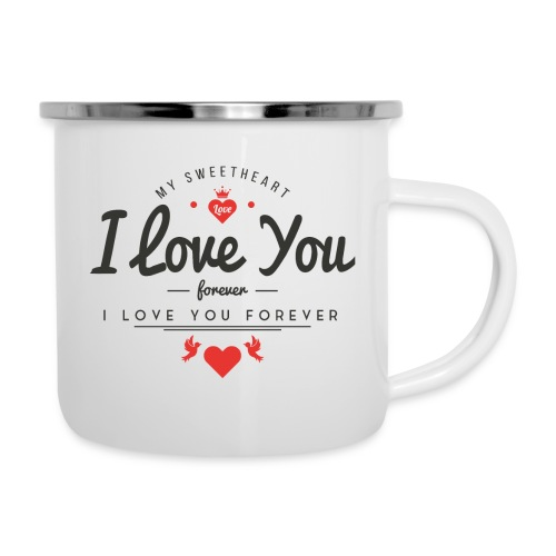 my sweetheart1 - Kubek emaliowany