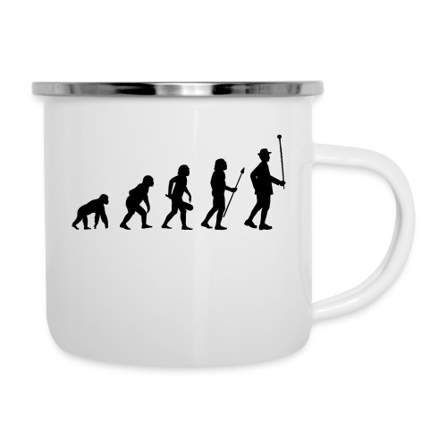 Stabführer Evolution - Emaille-Tasse