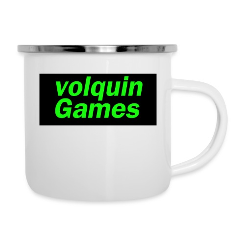 volquin - Emaille mok