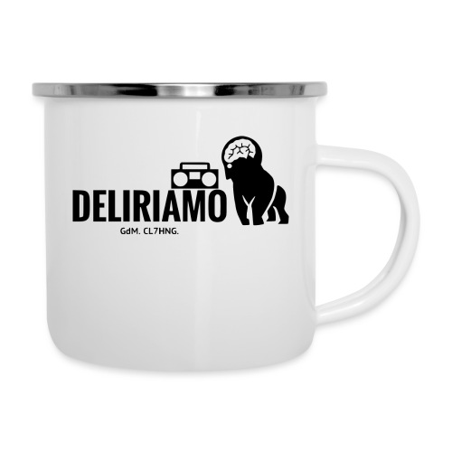 DELIRIAMO CLOTHING (GdM01) - Tazza smaltata