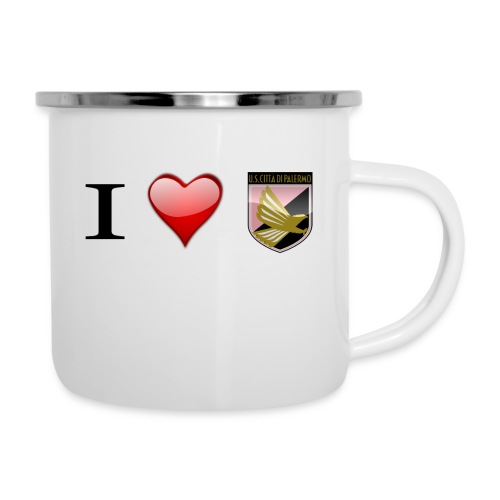 I Love Palermo - Tazza smaltata