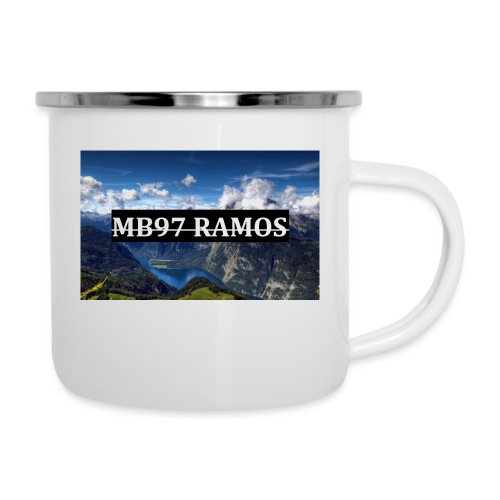 MB97RAMOS - Emaille-Tasse