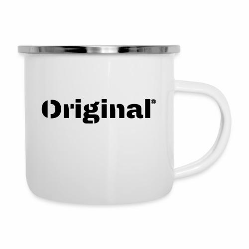 Original, by 4everDanu - Emaille-Tasse