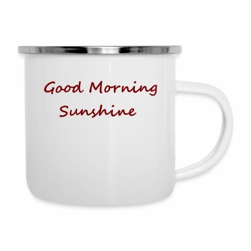 Good morning Sunshine - Emaille mok