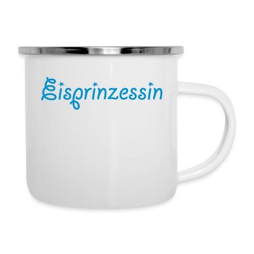 Eisprinzessin, Ski Shirt, T-Shirt für Apres Ski - Emaille-Tasse