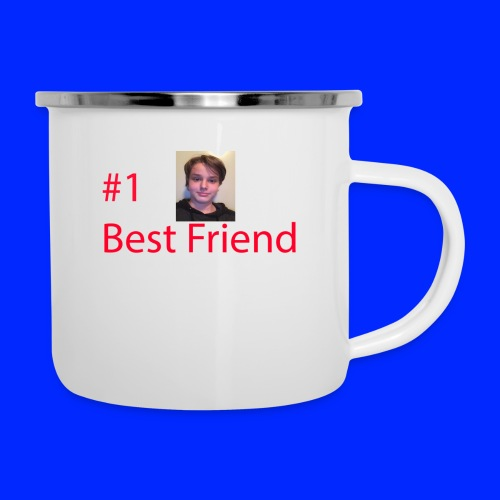 #1 Best Friend - Emaljmugg