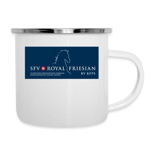 SFV Royal Friesian BLUE - Emaille-Tasse