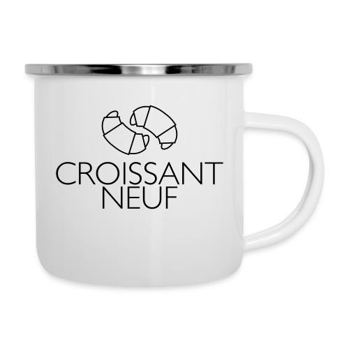 Croissaint Neuf - Emaille mok