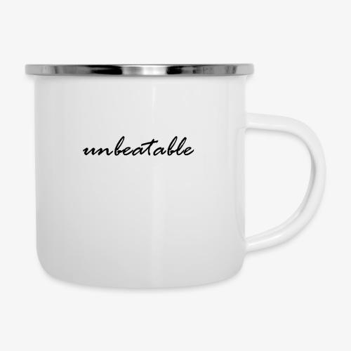 unbeatable - Emaille-Tasse