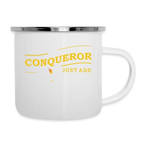 Instant Conqueror, Just Add Dragons - Camper Mug