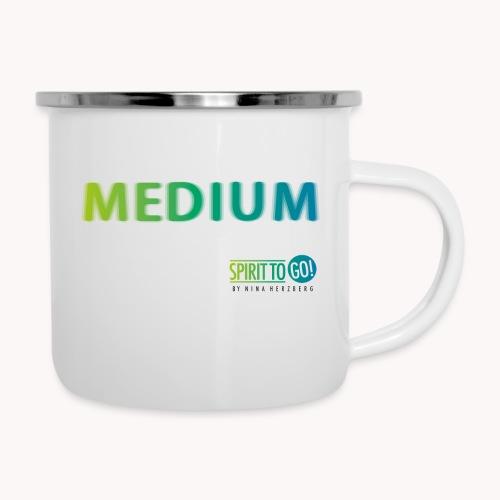 Heut´fühl ich mich so... MEDIUM - Emaille-Tasse