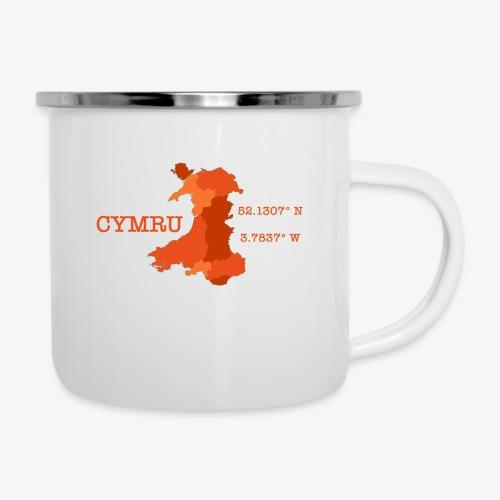 Cymru - Latitude / Longitude - Camper Mug