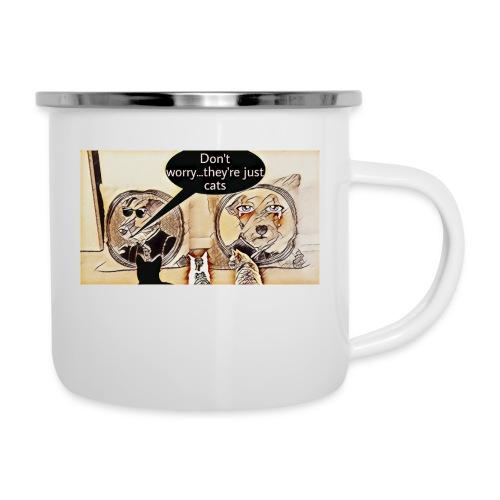 Dogs VS Cats - Tasse émaillée