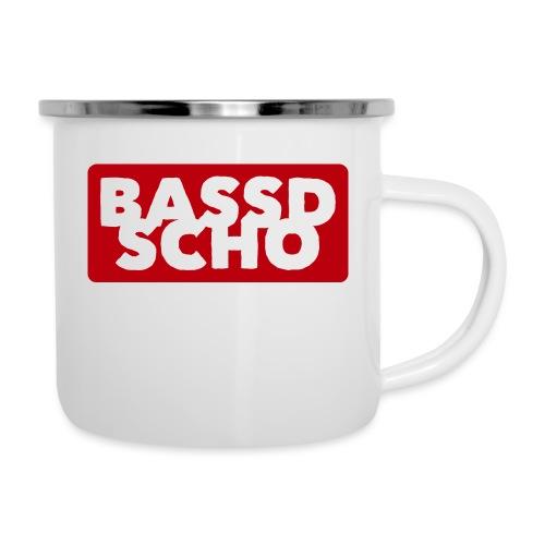 BASSD SCHO - Emaille-Tasse