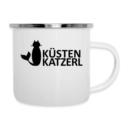 Küstenkatzerl - Emaille-Tasse