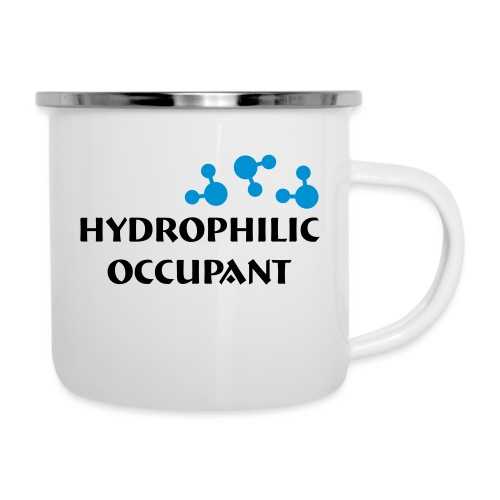 Hydrophilic Occupant (2 colour vector graphic) - Camper Mug