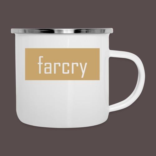 farcryclothing - Emaille-Tasse