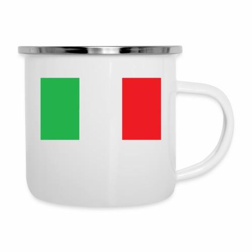 Italien Fußball - Emaille-Tasse