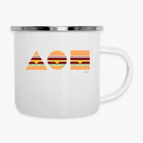Graphic Burgers - Tazza smaltata