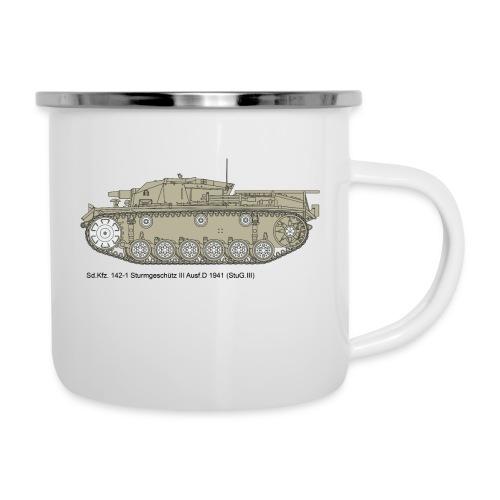 Stug III Ausf D. - Emaille-Tasse
