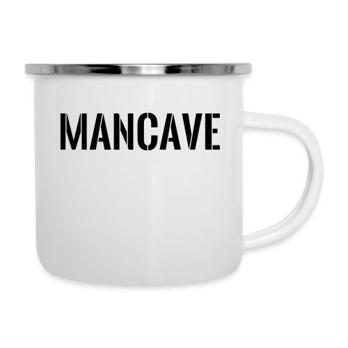Man Cave Stencil - Emaljmugg