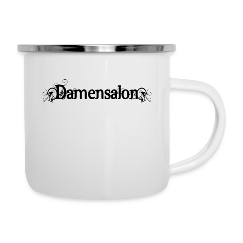 damensalon2 - Emaille-Tasse