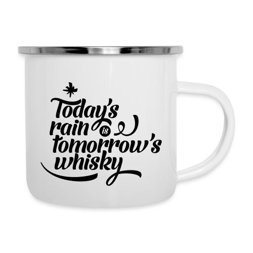 Todays's Rain Women's Tee - Quote to Front - Camper Mug