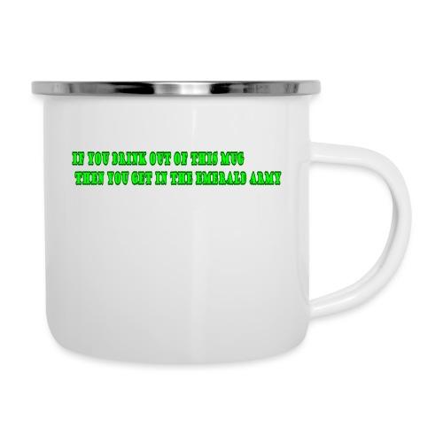 mug - Emaille mok