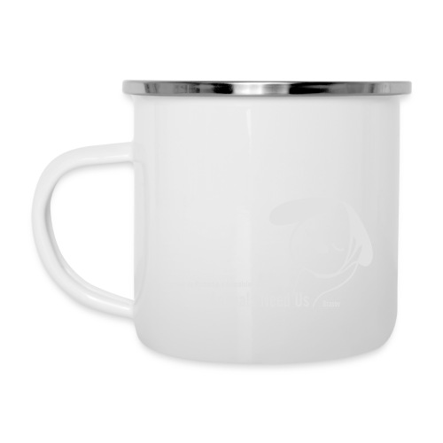 anu vector T - Emaille-Tasse