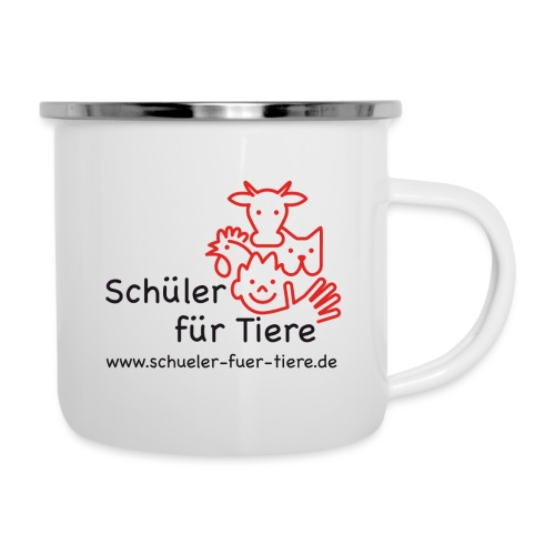 Logo Farbe (1x) - Emaille-Tasse