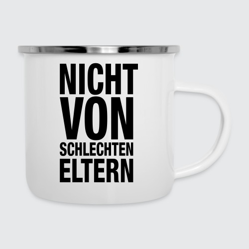 eltern - Emaille-Tasse
