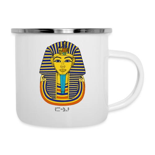 Pharao Tutanchamun - Emaille-Tasse