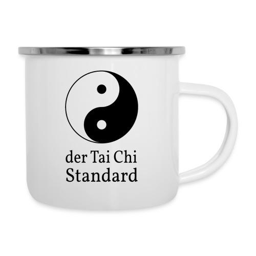 der Tai Chi Standard - Emaille-Tasse
