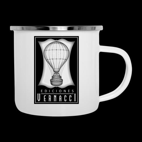 logotipo de ediciones Vernacci - Taza esmaltada