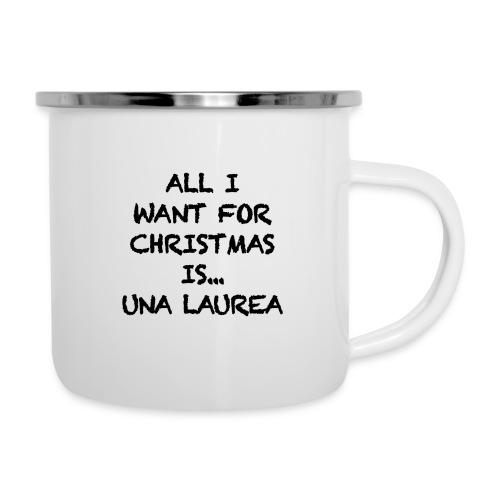 CHRISTMAS - Tazza smaltata
