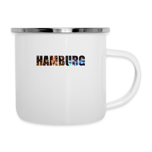 Hamburg - Emaille-Tasse