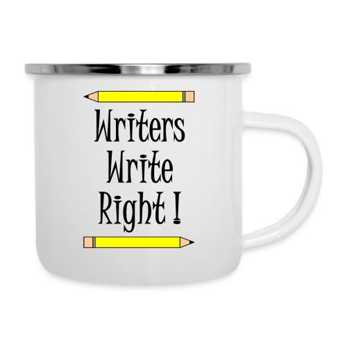 Writers Write Right - Camper Mug