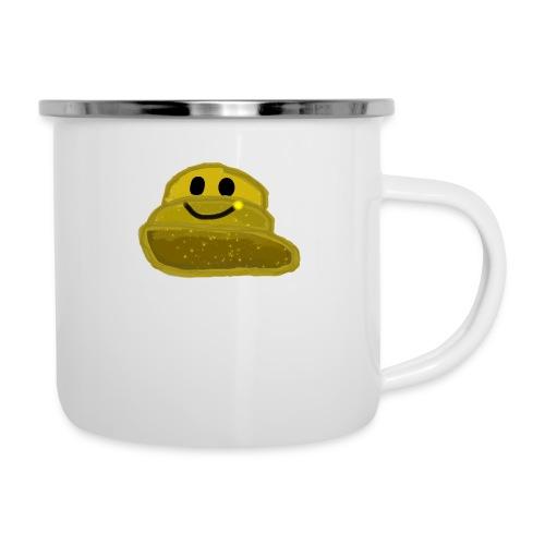 EinfachMC-Logo - Emaille-Tasse