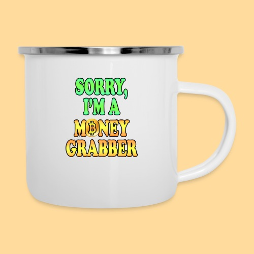 Money Grabber - Tazza smaltata