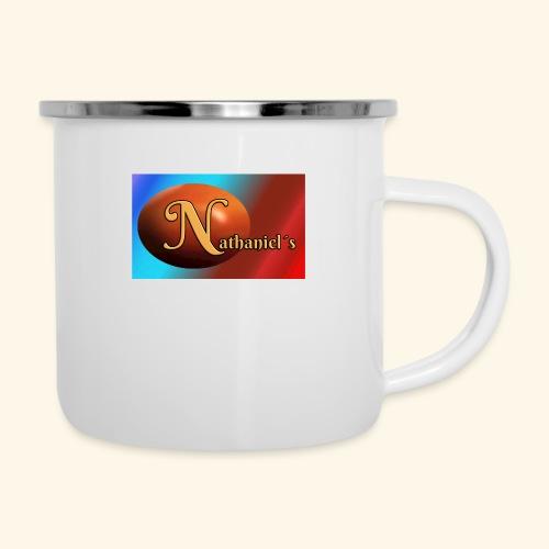 NathanielsLogo2 - Emaille-Tasse