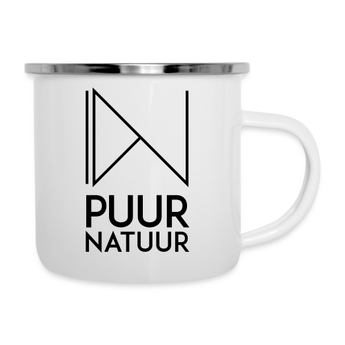PUUR NATUUR FASHION BRAND - Emaille mok