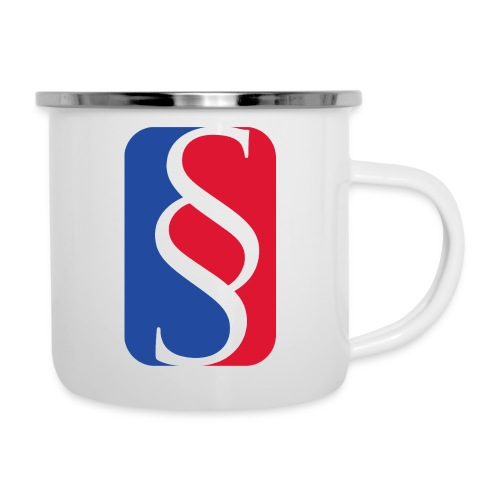 Law League - Emaille-Tasse