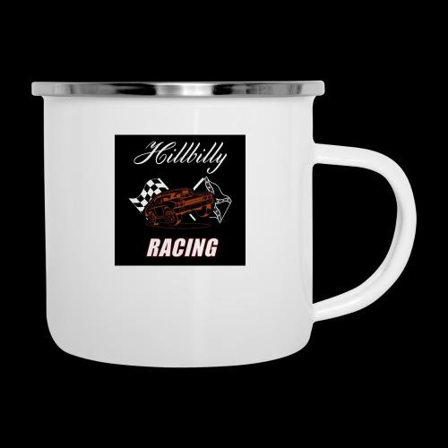 Hillbilly racing merchandise - Emaille mok
